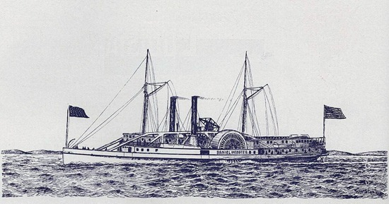 Steamship Daniel Webster