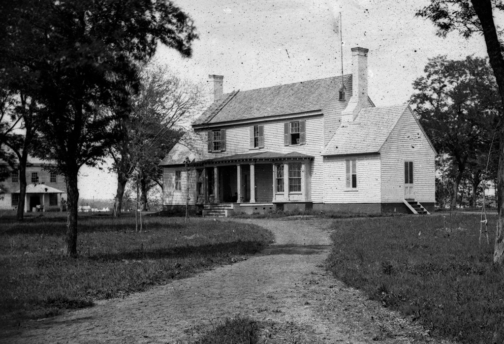 White house on the pamunkey mcclellan s headquarters for House landing