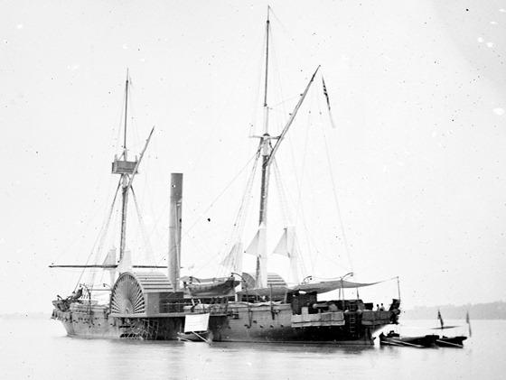 James River, Va. U.S.S. Maratanza