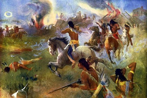 1862 August 19 The siege of New Ulm, Minn