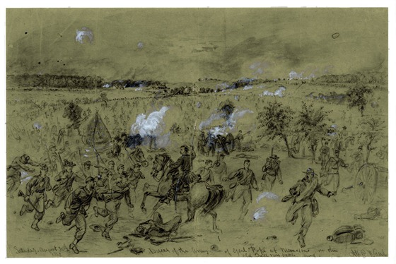 1862 August 30 Defeat of the Army of Genl. Pope at Manassas