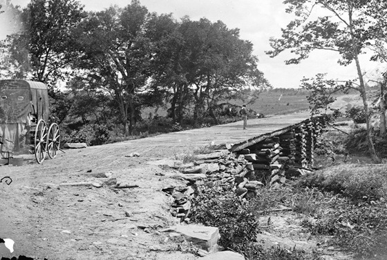 1862 August Bull Run, Va. New bridge built by McDowell's engineers