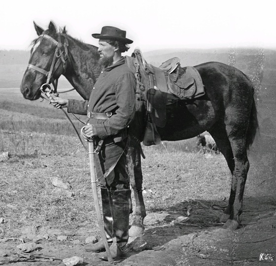 Antietam, Md. A cavalry orderly