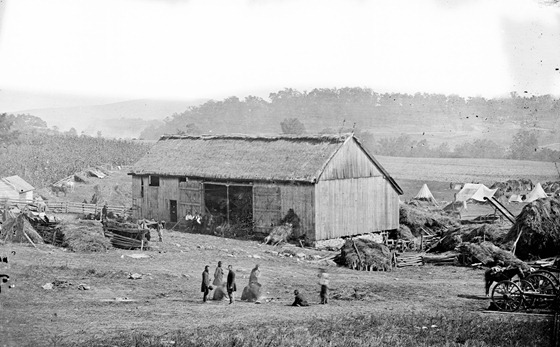 Smith's barn, used as a hospital after the battle of Antietam