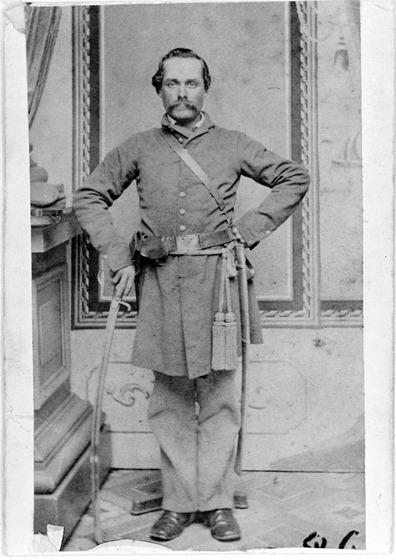 Unidentified Confederate officer - 3c19426u