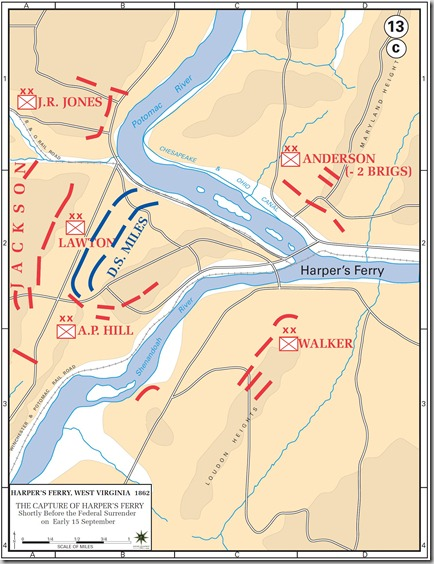 capture of Harper's Ferry, 15 September, 1862