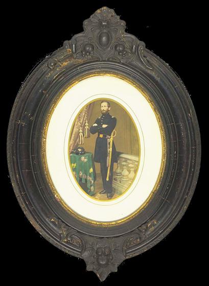Officer in Civil War Uniform