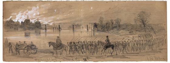 Fredericksburg, night of the 11th