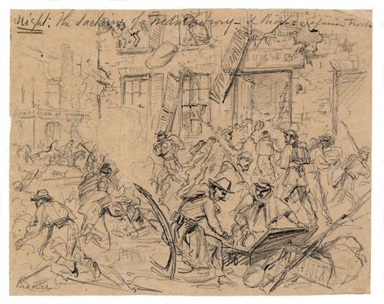 The sacking of Fredericksburg- December 12