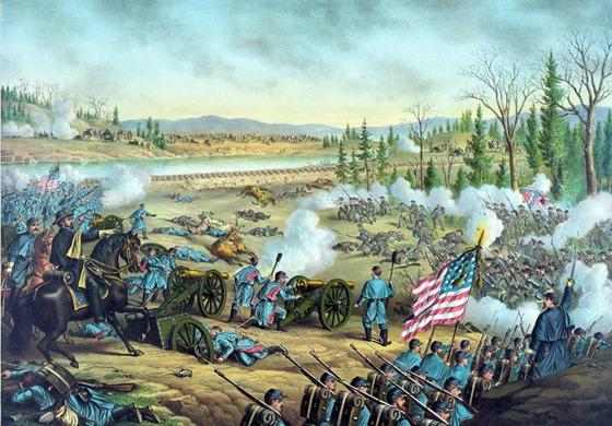 Battle of Stone River, Near Murfreesborough, Tenn