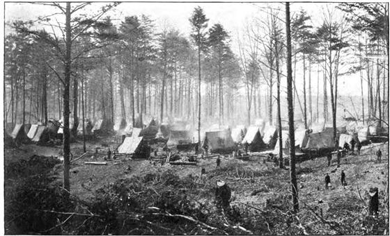 Camp Near Wolf Run Shoals, Va