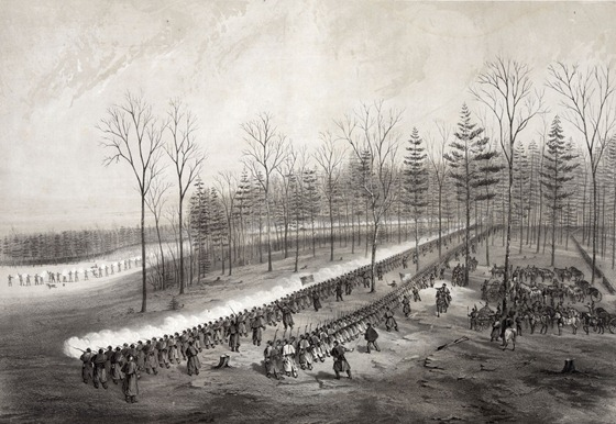 Charge of the first brigade