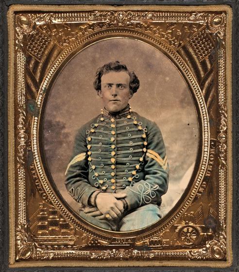 Unidentified soldier in 3rd New Jersey Cavalry Volunteers-2