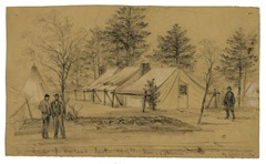 Genl. J. Hooker's. Tent Hdqts. Army of Potomac 20891u