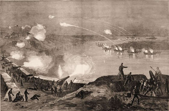 The Fight at Port Hudson.