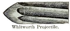 Whitworth Projectile - Siege of Vicksburg, June 1863