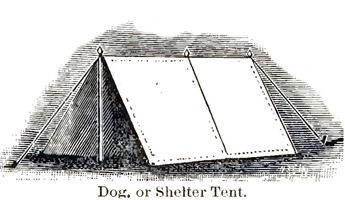 Dog, or Shelter Tent. -- A Soldier's Story of the Siege of Vicksburg