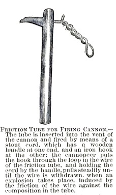 Friction Tube for Firing Cannon -- A Soldier's Story of the Siege of Vicksburg