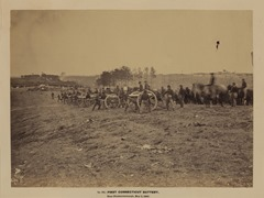 1st Connecticut Battery, near Fredericksburg, Va., May 2, 1863 uncropped