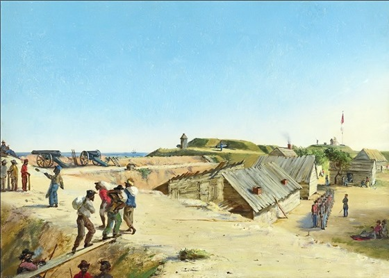 Battery Marshall, Sullivan's Island, December 4, 1863