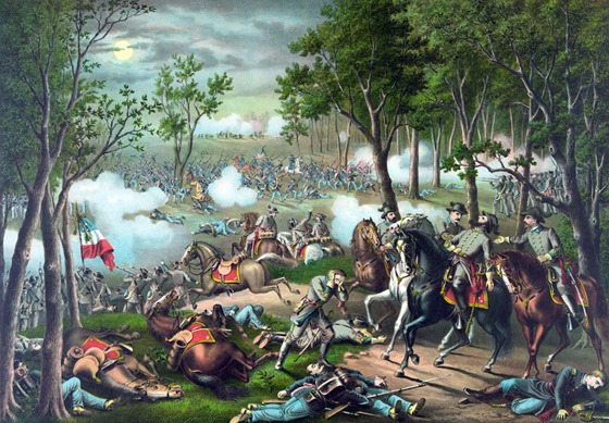 Battle of Chancellorsville and Wounding of Jackson