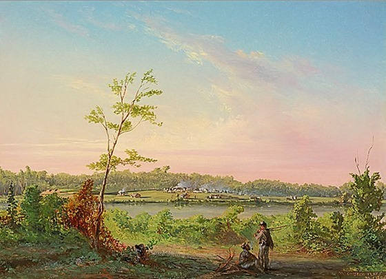 Church Flat Camp - in the rear of Charleston - December 10, 1864