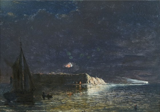 Night Bombardment, December 10, 1864 (Fort Sumter)