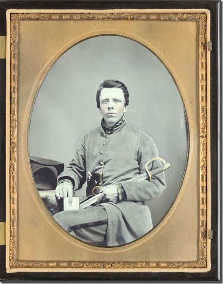 Private W.R. Clack of Co. B, 43rd Tennessee Infantry Regiment