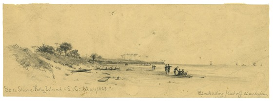 Sea Shore--Folly Island, S.C. May 1863
