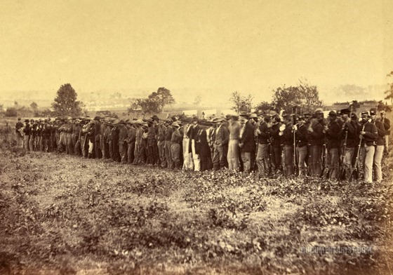 june 17 battle of aldiegroup_of_confederate_prisoners_fairfax_court-house_virginia._1863