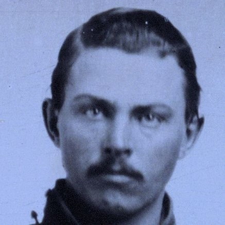 Unidentified soldier in Union cavalry uniform with Colt